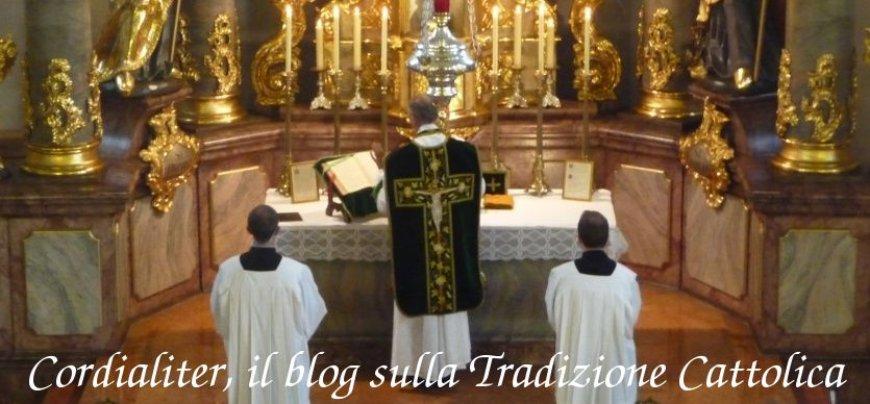 Cordialiter, il blog sulla Tradizione Cattolica