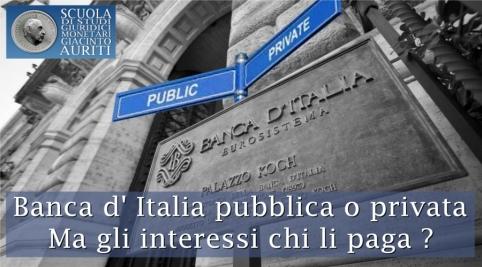 Banca Pubblica o Privata